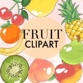 Fruit Clipart by Taracotta Sunrise