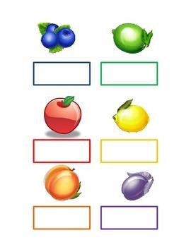 Fruit Color Match