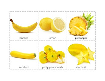 Fruit Colour Sorting / Color Sorting with Real Pictures