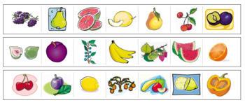 Fruit Cutting Strips