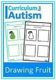 Fruit Drawing Skills Autism Fine Motor
