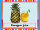 Fruit Drinks, Coffee and Tea Flashcards (Role-Play Situation in a Restaurant)