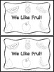 Fruit Emergent Reader