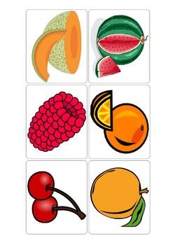 Fruit Flash Card Bundle