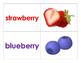Fruit Flash Cards