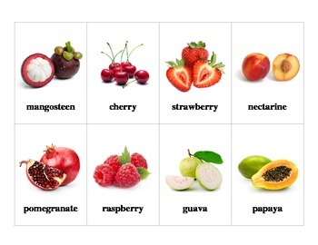 Fruit Flashcards