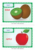 Fruit Flashcards. Vegetables Flashcards.