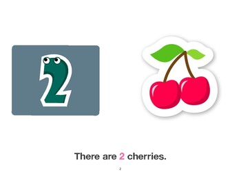 Fruit Flashcards with Vocabulary