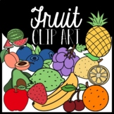 Fruit Food Clipart: Moveable Images for Paperless Resources