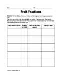 Fruit Fractions