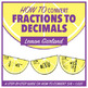 Fruit Garland BUNDLE - How to Convert Fractions to Decimals