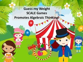 Fruit Girls Balancing the Scale - Algebraic Thinking for Y