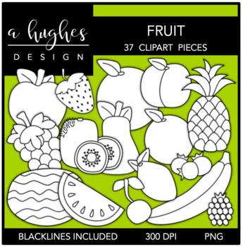 Fruit Clipart {A Hughes Design}