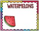 Fruit Groups Guided Reading Group Posters