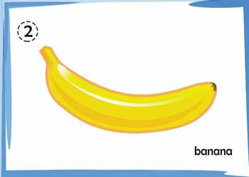 Fruit - High Quality A3 Flashcards