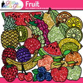 Fruit Clip Art {Food Groups & Nutrition Graphics for Worksheets & Resources}