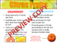 Fruit Lesson & Quiz for FCS Nutrition & Culinary Arts Interactive Powerpoint