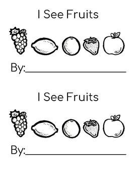 Fruit Leveled Readers