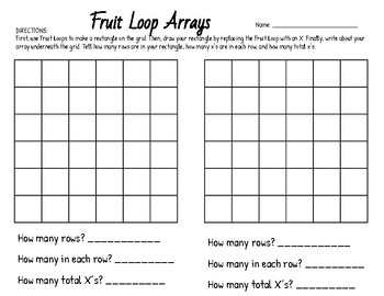 Fruit Loop Arrays