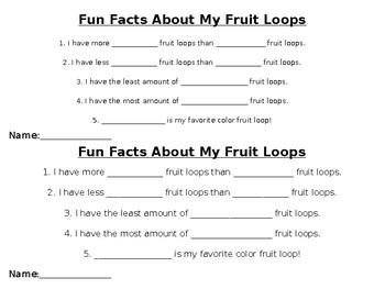 Fruit Loop Crafts