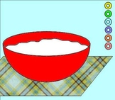 Fruit Loop Fractions:  Parts of a Whole Mini-Lesson and Ma