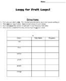 Fruit Loop Graphing