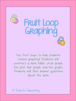 Fruit Loop Graphing Activities
