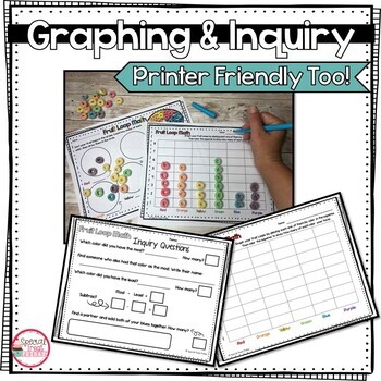 Back to School Math Activity with Fruit Loops   Hands-On Graphing Activities
