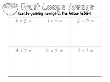 Fruit Loop Math Activities