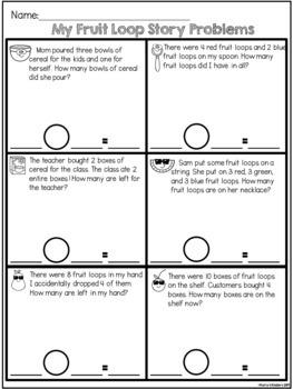 Fruit Loop Math Pack