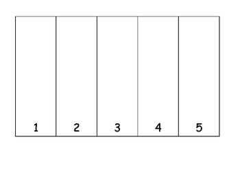 Fruit Loop Math numbers one to one correspondence number sense