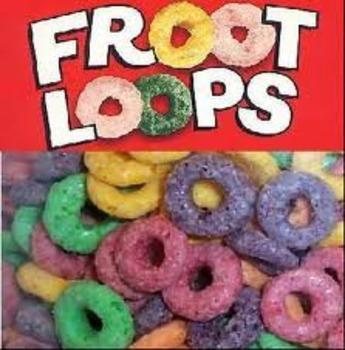 Fruit Loop Fractions Teaching Resources