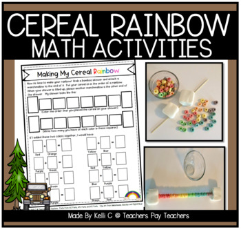 Fruit Loop Rainbows Food Activity Integrating Math, Science, Writing & more....