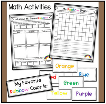 Fruit Loop Rainbows Includes Math, Science, Writing & more..