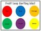 Fruit Loop Sorting Mat