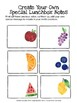 Fruit Lunchbox Notes for children going back to school