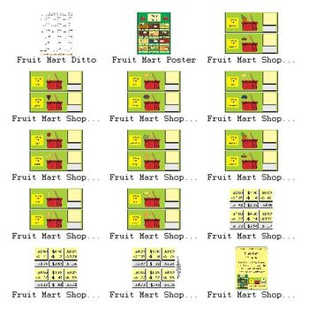 Fruit Mart Shopping (Subtraction with regrouping)
