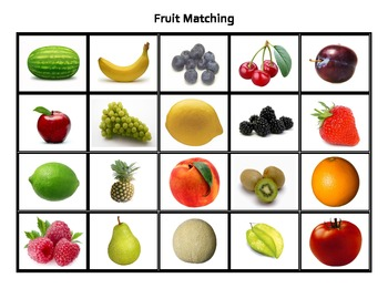 Fruit Matching