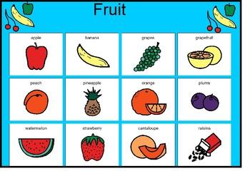 Fruit Matching Board!