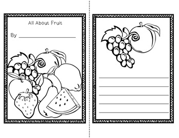 Fruit Mini Unit~ Includes Graphic Organizers & Much More!