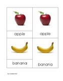 Fruit Nomenclature Cards in Print