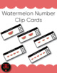 Fruit Number Clip Cards (Bundle)