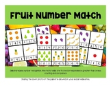 Fruit Number Match, Numbers 1-9