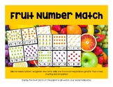 Fruit Number Match, Numbers 10-20