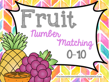 Fruit Number Matching