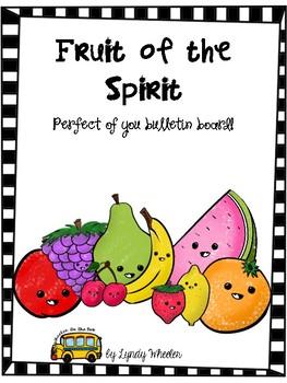 Fruit Of The Spirit Posters - Bulletin Board Set