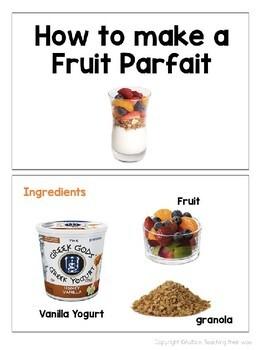 Fruit Parfait Recipe Book