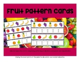 Fruit Pattern Cards