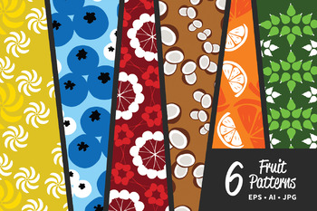 Fruit Pattern Clip Art