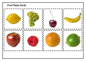 Fruit Photo Cards to laminate